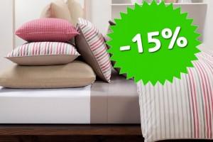 Скидка 15% на все товары производителя Сн-Текстиль!