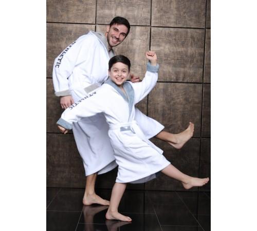 Подростковый бамбуковый халат
