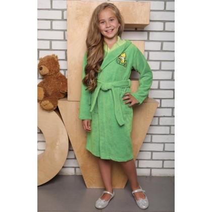 Детский банный халат из бамбука