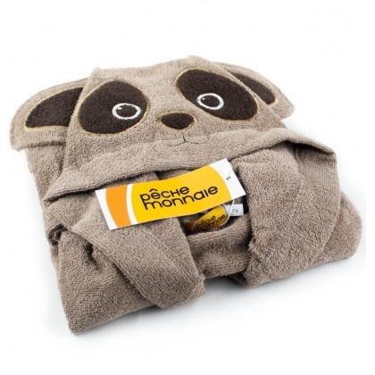 Детский махровый халат Brown Panda (PECHE MONNAIE France 7)