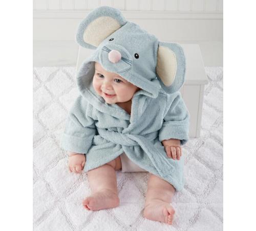 Детский махровый халат Funny Mouse (PECHE MONNAIE France 5)
