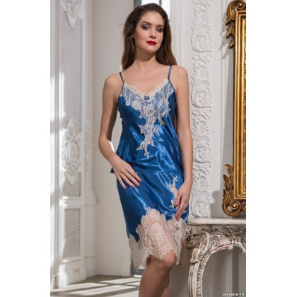 Комплект с юбкой из смесового шелкового полотна CHANTAL (3197)