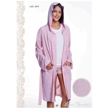 Комплект халат, майка и шорты Luisa Moretti (ESC 4079)
