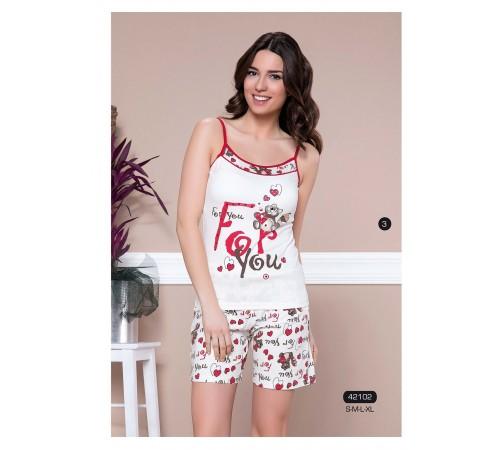 Легкий костюм-пижама для дома и отдыха Moyra (42102)