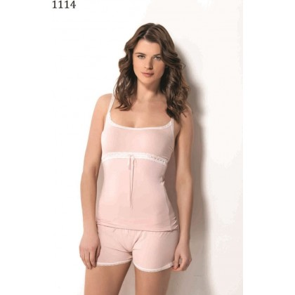 Стильная  и нежная пижама Luisa Moretti(LMS 1114)