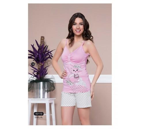 Легкая пижама из натурального хлопка Maranda (Angels 42119)