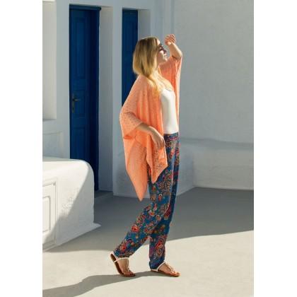 Яркий комплект - тройка. Кардиган, брюки и топ Miss Loren (E 1313)