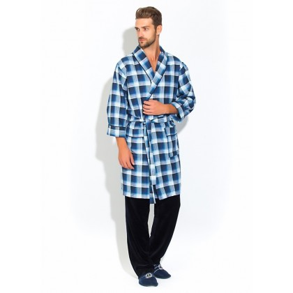 Комплект мужской - легкий халат и брюки Première №32 (PM 2109/1)