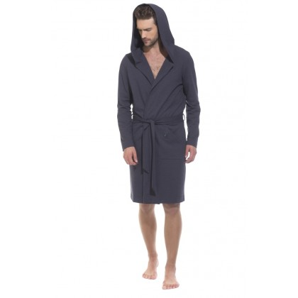 Трикотажный халат с капюшоном Sport's Idol (PM France 410)