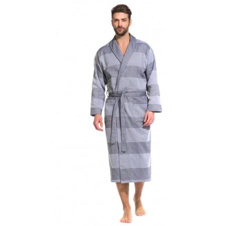 Легкий мужской халат из органического хлопка Pur Organique (PM France 417)