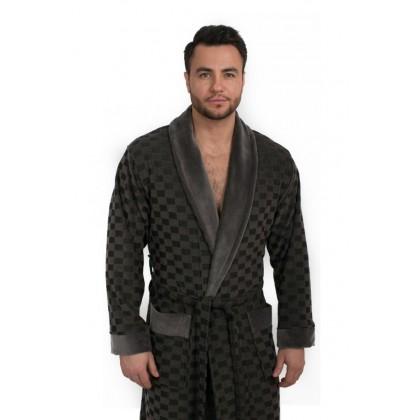 Велюровый халат мужской из бамбука GROSS (EPP M120)