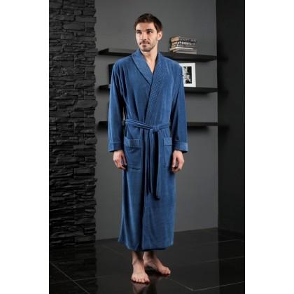 Велюровый халат мужской из бамбука LAWRENCE (EFW)