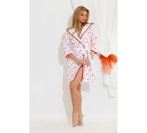 Трикотажный халат женский из бамбука Lover (EP 5662 111)