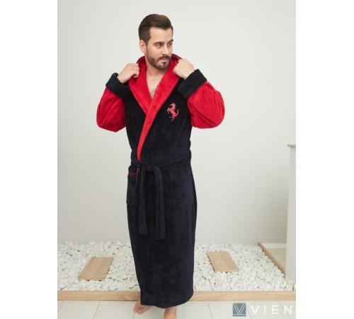 Махровый халат с капюшоном Fredo (EFW)