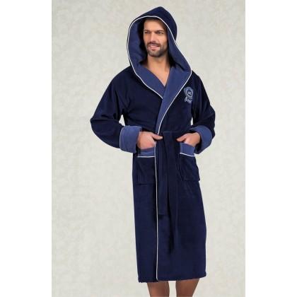 Махровый халат с капюшоном из бамбука Marksman (EN 7160)