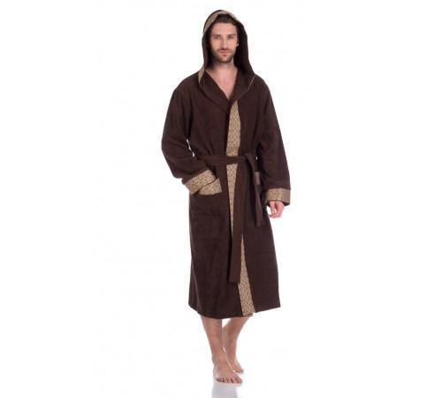 Махровый халат с капюшоном Le Roi (PM 914)