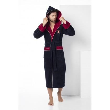Махровый халат с капюшоном из бамбука Spartacus (EN 2865)