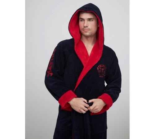 Спортивный бамбуковый халат АТЛЕТИК (EFW)