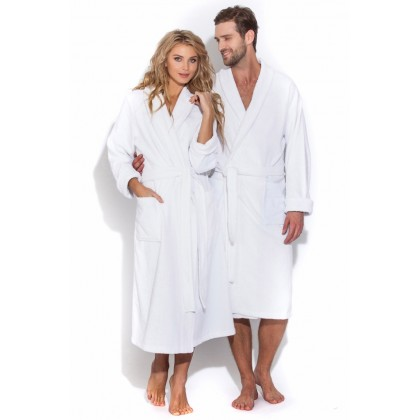 Белый банный халат Arctic White (Е 363)