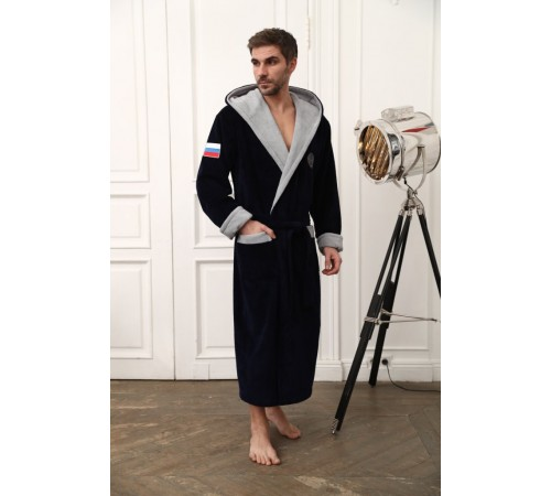 Халат махровый мужской из бамбука Russia (EFW)