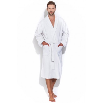 Белый банный халат Arctic White Discount (Е 363/5)