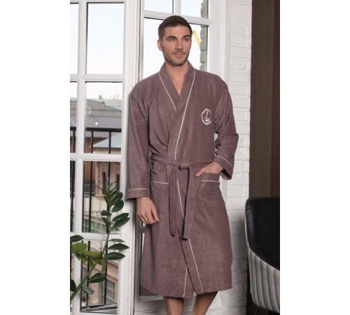 Облегченный махровый халат из бамбука Ocean (EFW)