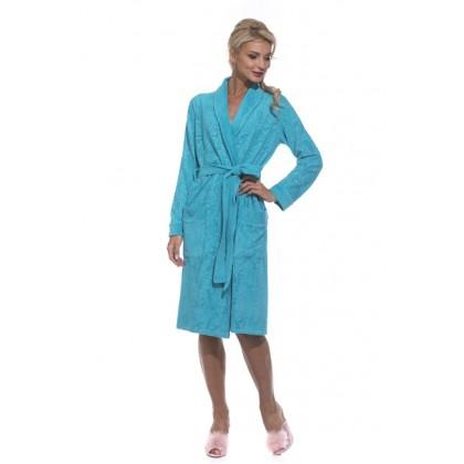 Трикотажный халат облегченный Chiara (EP 8003)