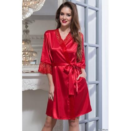 Шелковый халат-кимоно Flamenco (EM 2087)