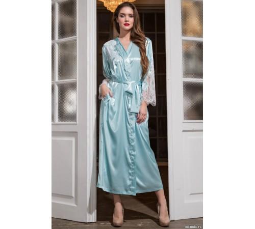 f70daa0eb14ad Шелковый халат женский удлиненный CHANTAL (3199) купить по выгодной ...