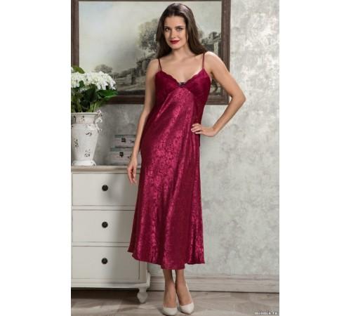Сорочка женская шелковаядлинная ANGELINA DELUXE (9538)