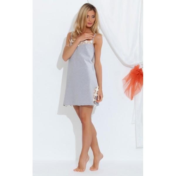 5cdcdda1dc1c9e7 Ночная сорочка женская из натурального хлопка KRISTI(E 1421) купить ...