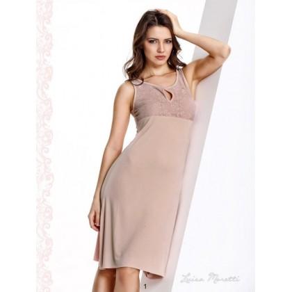 Вечерняя сорочка женская для дома и отдыха Luisa Moretti (ESC 1120)