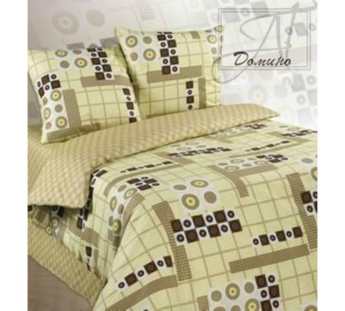 Постельное белье бязь Экзотика Домино 1.5 спальное