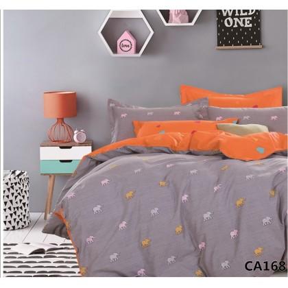 Постельное белье сатин Альвитек CA-4-168  2 спальное
