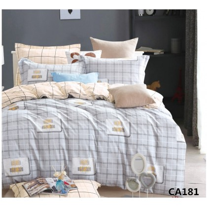 Постельное белье сатин Альвитек CA-4-181  2 спальное