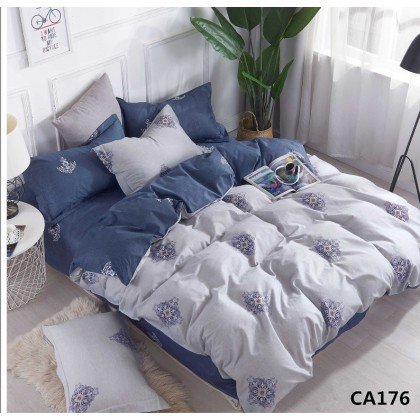 Постельное белье сатин Альвитек CA-4-176  2 спальное