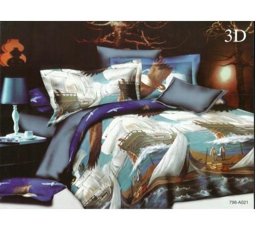Постельное белье сатин Вальтери SF-21 2 спальное