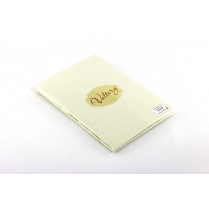 Наволочки трикотажные Вальтери NT 70х70 нежно-желтые