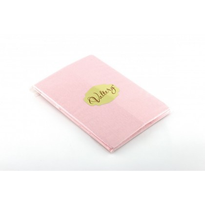 Наволочки трикотажные Вальтери NT 50х70 розовые