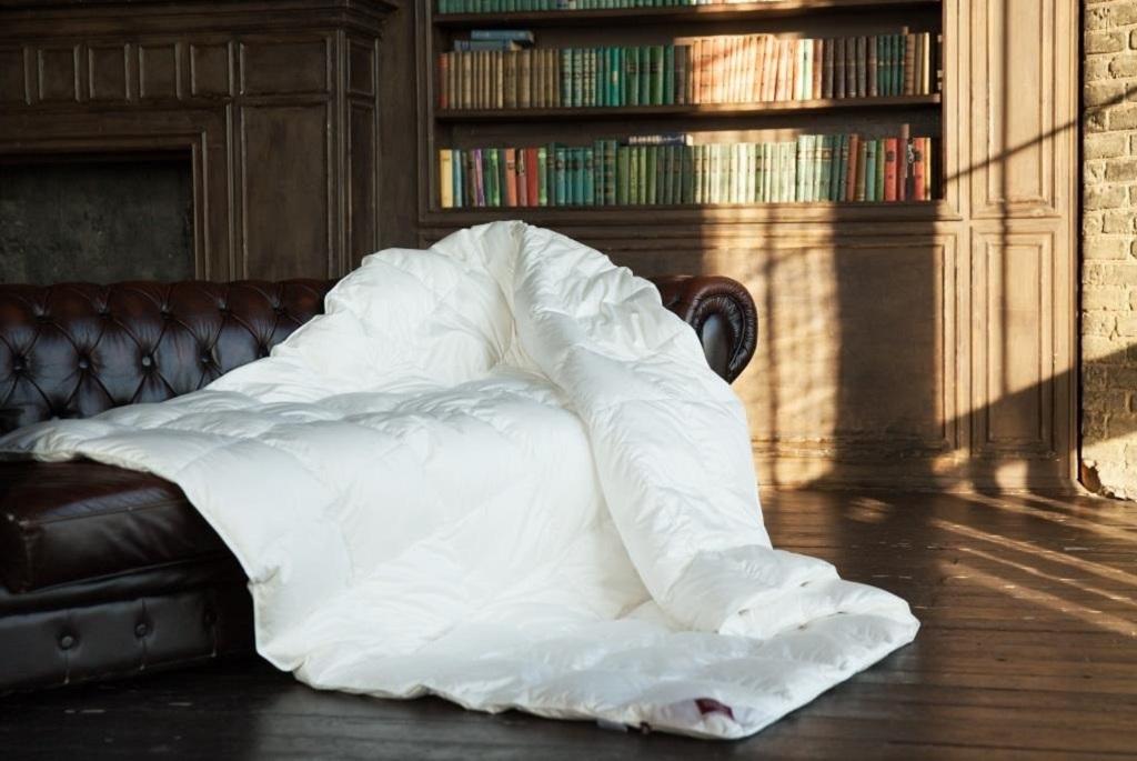 Пуховые одеяла со скидкой до 20%