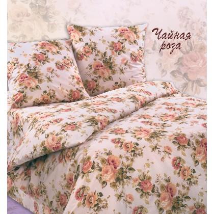 Постельное белье бязь Экзотика Чайная роза 1.5 спальное