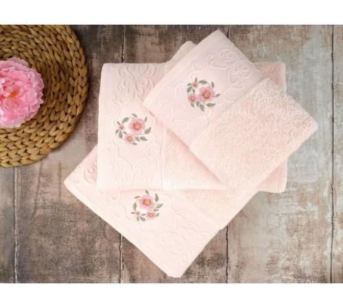 Полотенце банное махровое IRYA LOYA Pink розовое 70х130