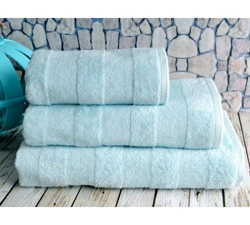 Полотенце банное махровое IRYA NOVA Aqua светло-голубое 50х90