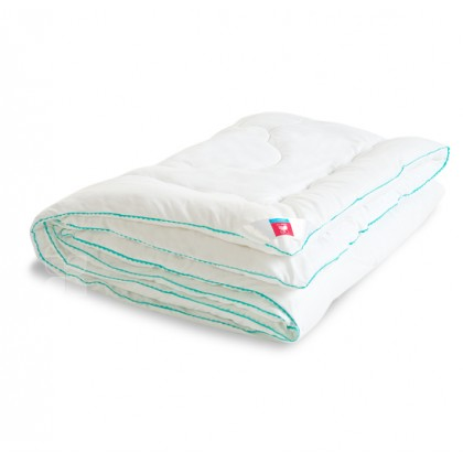 "Одеяло из лебяжьего пуха ""Перси"" 140х205 теплое"