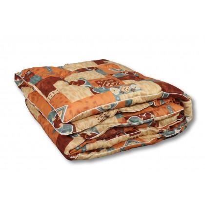 Одеяло из овечьей шерсти ШБ 140х205 классическое
