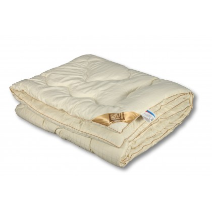 """Одеяло из овечьей шерсти """"Модерато"""" 140х205 классическое всесезонное"""