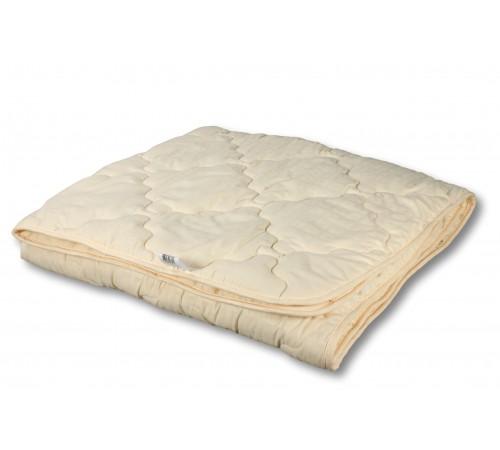 "Одеяло из овечьей шерсти ""Модерато-Лето"" 140х205"