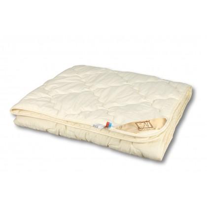 """Одеяло из овечьей шерсти """"Модерато"""" 140х205 всесезонное"""