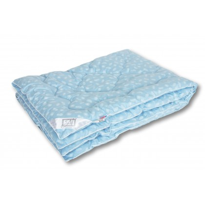 "Одеяло ""Лебяжий пух"" 140х205 теплое"