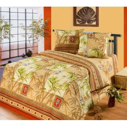 Постельное белье Китайский бамбук Бязь Хлопковый Рай 1.5 спальное